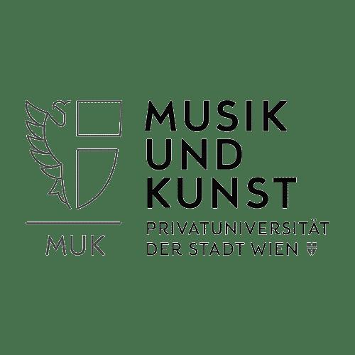 Musik und Kunst Privatuniversität Wien Logo