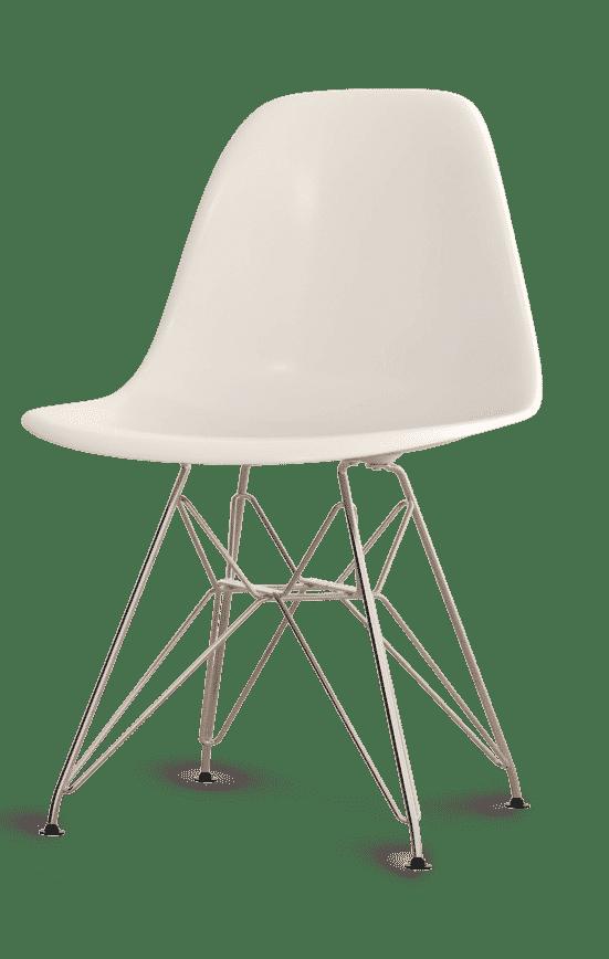 Weißer Sessel