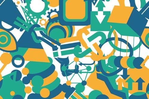 CSR Tag 2017 Designpattern Grafikdesign