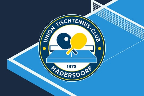 Tischtennis Club Hadersdorf Grafikdesign