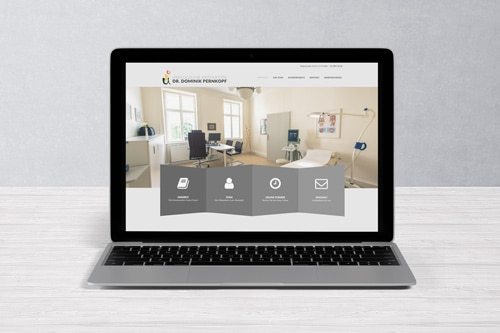 Webdesign Dr. Dominik Pernkopf