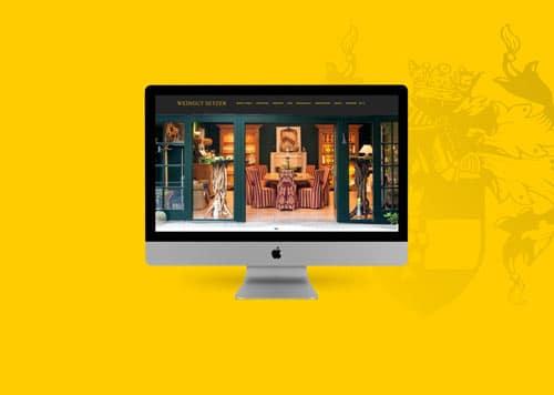 Weingut Setzer Screendesign
