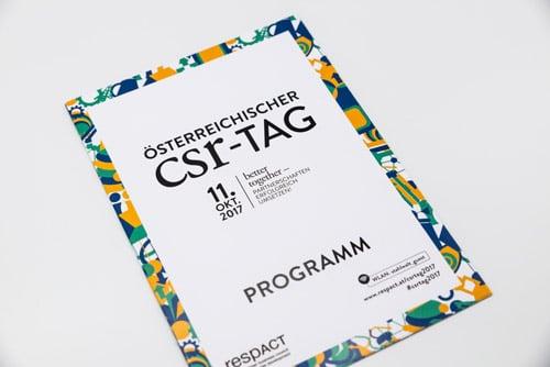 CSR Tag 2017 Einladung Cover