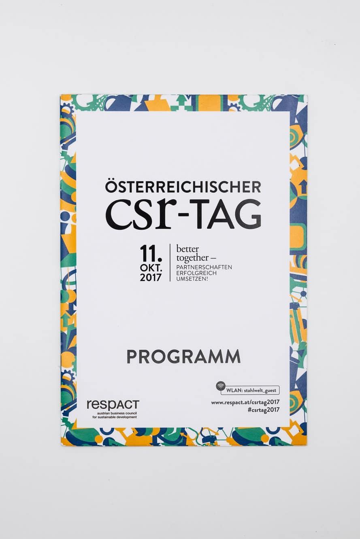 CSR Tag 2017 Programmheft