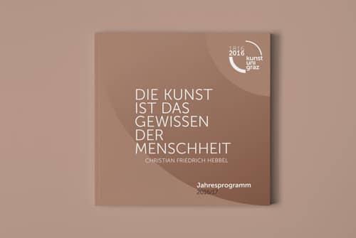 Editorial Design KUG Jahresprogrammheft