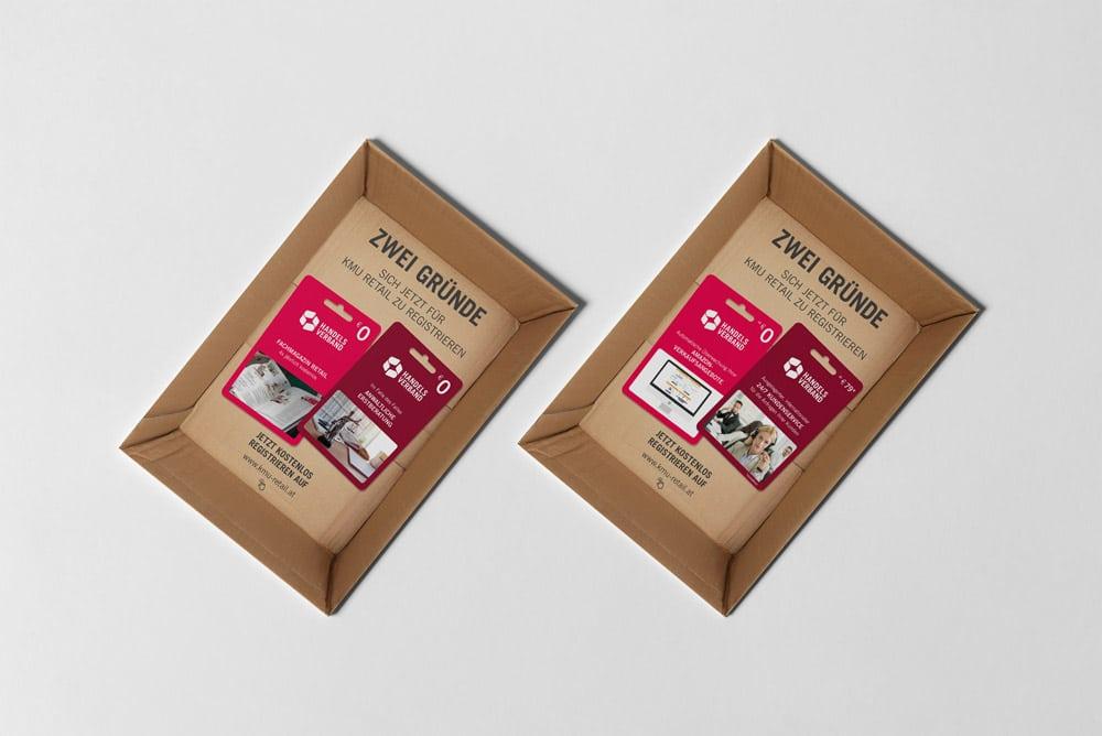 Handelsverband KMU Retail Postsendung