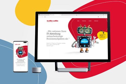 Ivellio-Vellin Webseite Devices
