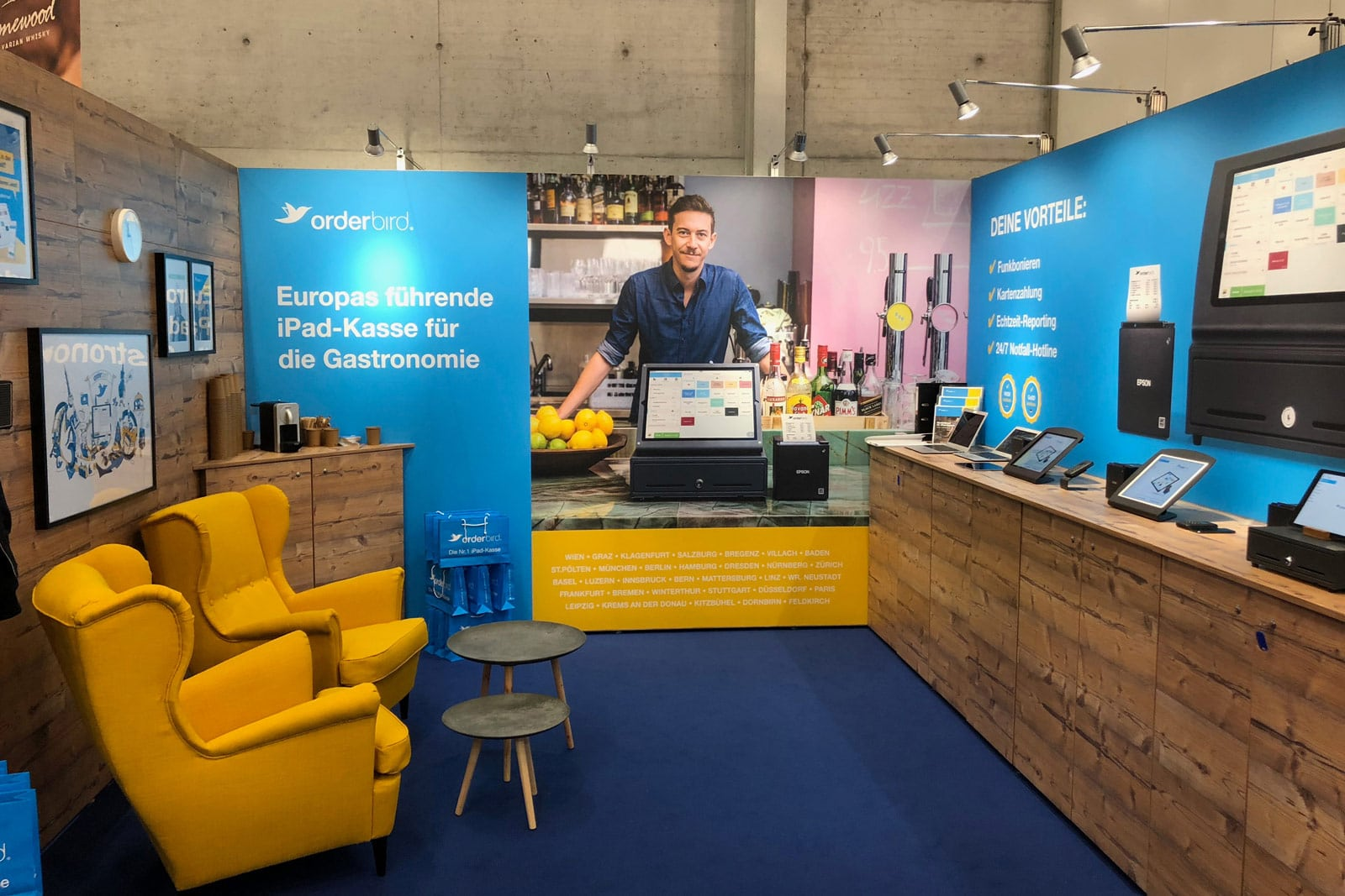 Orderbird Messestand