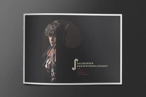 Salzburger Konzertgesellschaft Broschüre