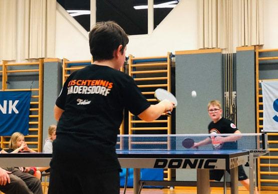 Tischtennis Hadersdorf Textil