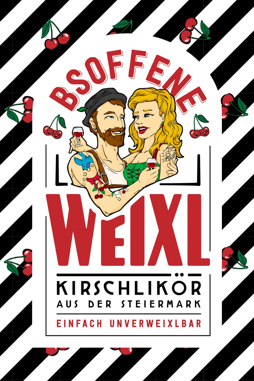 Bsoffene Weixl Etiketten