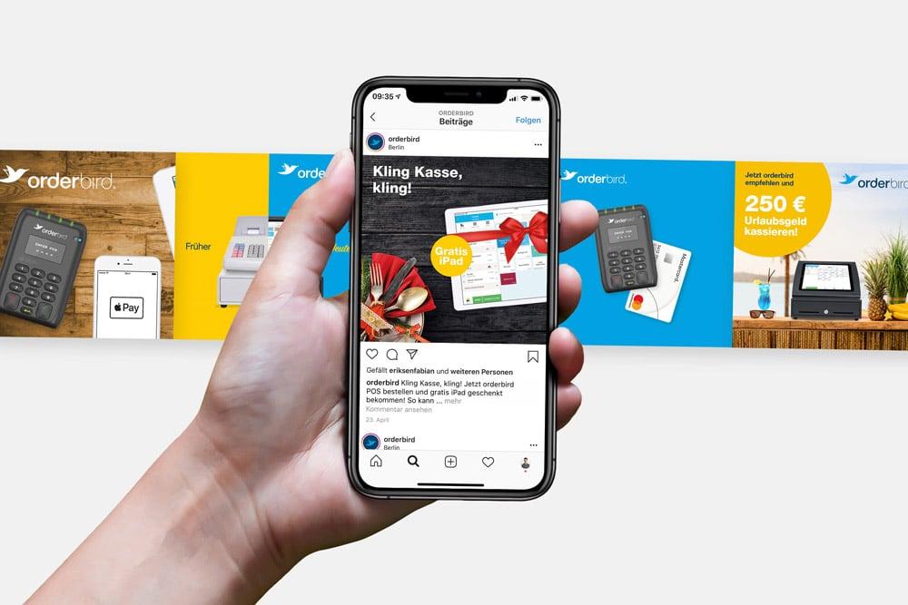 Orderbird Social Media