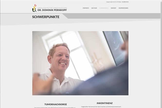 Webdesign Screendesign Pernkopf